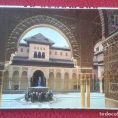 Postales: BLOC ACORDEÓN TACO TIRA DE 10 POSTALES IMÁGENES FOTOS PHOTOS FOTOGRAFÍAS GRANADA LA ALHMABRA. POSTAL. Lote 142023938