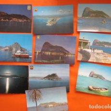Postales: CADIZ GIBRALTAR PEÑON LOTE 10 POSTALES. Lote 142397326