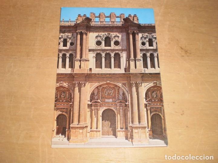 MALAGA CATEDRAL, FACHADA PRINCIPAL (SIN CIRCULAR) (Postales - España - Andalucia Moderna (desde 1.940))