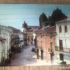 Postales: ANTIGUA POSTAL CASTRIL GRANADA PLAZA GENERALISIMO Y CALLE CARMEN NUM 5 . Lote 142681602