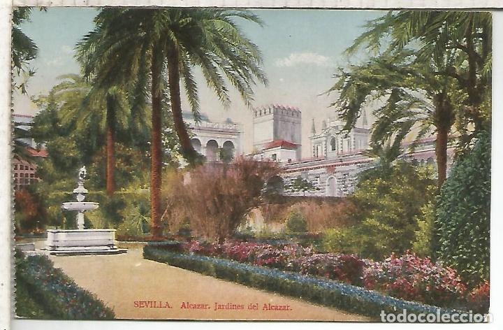 SEVILLA JARDINES DEL ALCAZAR SIN ESCRBIR (Postales - España - Andalucía Antigua (hasta 1939))