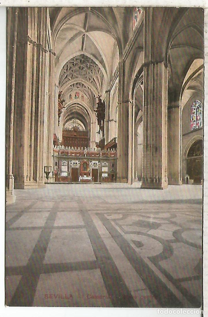 SEVILLA CATEDRAL SIN ESCRIBIR (Postales - España - Andalucía Antigua (hasta 1939))