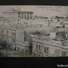 Postales: SAN FERNANDO-VISTA GENERAL-1-FOT·CEMBRANO-HAUSER Y MENET-REVERSO SIN DIVIDIR-POSTAL ANTIGUA-(54.966). Lote 142918030