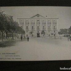 Postales: SAN FERNANDO-CAPITANIA GENERAL-FOT·CEMBRANO-HAUSER MENET-REVERSO SIN DIVIDIR-POSTAL ANTIGUA(54.983). Lote 142919370