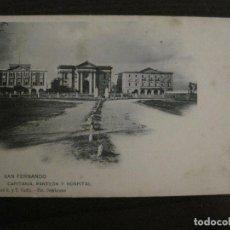 Postales: SAN FERNANDO-PANTEON HOSPITAL-FOT·CEMBRANO-HAUSER Y MENET-REVERSO SIN DIVIDIR-POSTAL ANTIGUA(54.985). Lote 142919474