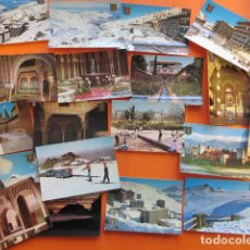 Postales - GRANADA - 19 POSTALES - 1 CIRCULADAS - ZERKOWITZ TODAS SIERRA NEVADA - 143256618