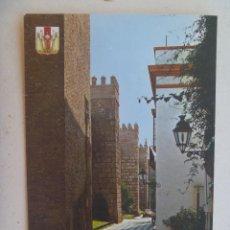 Postales: POSTAL DE CARMONA ( SEVILLA ): MURALLAS REALES ALCAZARES . AÑOS 60. Lote 143333266