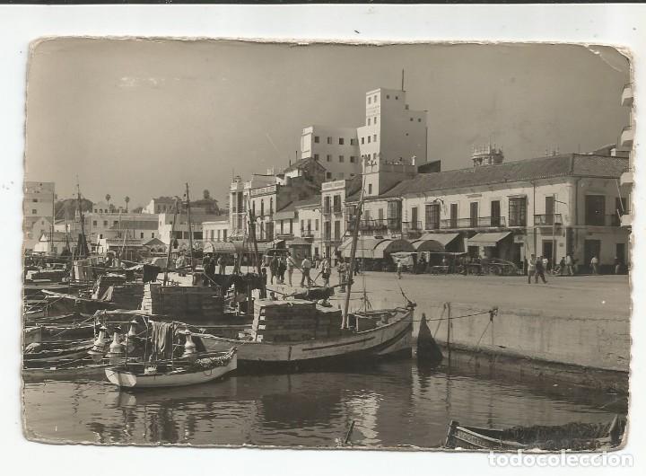 ALGECIRAS - PUERTO DE PESCADORES Y ACERA DE LA MARINA - Nº 1 (Postales - España - Andalucia Moderna (desde 1.940))