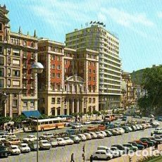 Postales: MÁLAGA - 96 ACERA DE LA MARINA - HOTEL MÁLAGA PALACIO. Lote 143925326
