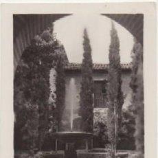 Postales: POSTAL DE GRANADA. LA ALHAMBRA. JARDIN DE LINDARAJA P-ANGRA-591,2. Lote 143985162