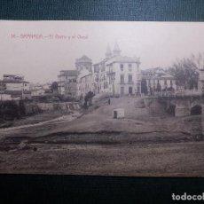 Postales: TARJETA POSTAL - GRANADA - 16.- EL DARRO Y EL GENIL - CASTAÑEIRA, ALVAREZ Y LEVENFELD - SIN CIRCULAR. Lote 144286782