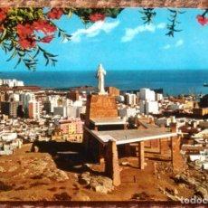 Postales: ALMERIA - MONUMENTO AL SAGRADO CORAZON DE JESUS. Lote 145586726