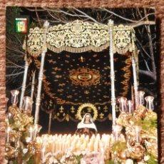 Postales: MALAGA - SEMANA SANTA - NTRA. SRA. DE LA SOLEDAD. Lote 145590698