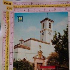 Postales: POSTAL DE MÁLAGA. AÑO 1969. FUENGIROLA, IGLESIA PLAZA DEL GENERALÍSIMO. 1160. Lote 222637503