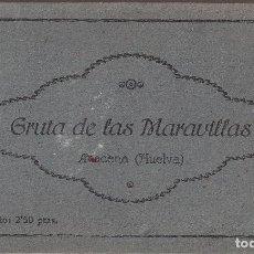 Postales: LIBRITO DE 12 POSTALES GRUTA DE LAS MARAVILLAS, SIERRA DE ARACENA (HUELVA). Lote 145777714