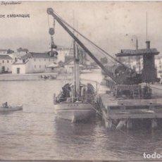 Postales: ALGECIRAS (CADIZ) - MUELLE DE EMBARQUE - ANTONIO ROCA - DEPOSITARIO. Lote 145779862