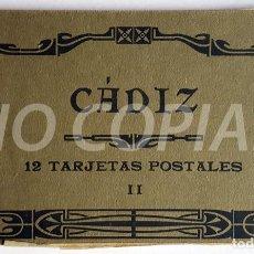 Postales: PACK 12 POSTALES (II) ANTIGUAS DE CÁDIZ. NUEVO. SIN USO.. Lote 146291202