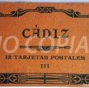 Postales: PACK 12 POSTALES (III) ANTIGUAS DE CÁDIZ. NUEVO. SIN USO.. Lote 146291310