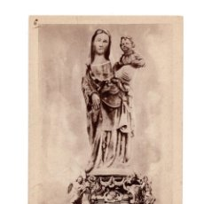 Postales: HUELVA.- CONVENTO DE LA RÁBIDA.IMAGEN DE SANTA MARÍA DE LA RÁBIDA, SIGLO XIV. CIUDAD DE PALOS. Lote 146378194