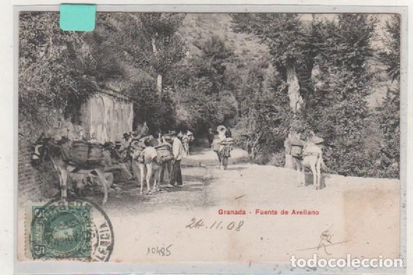 SERIE PZ 10485 GRANADA FUENTE DE AVELLANO. REVERSO SIN DIVIDIR. CIRCULADA. (Postales - España - Andalucía Antigua (hasta 1939))