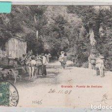 Postales: SERIE PZ 10485 GRANADA FUENTE DE AVELLANO. REVERSO SIN DIVIDIR. CIRCULADA.. Lote 146533462