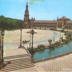 Postales: SEVILLA, PLAZA DE ESPAÑA, EDICIONES RO-FOTO , SIN CIRCULAR. Lote 146714390