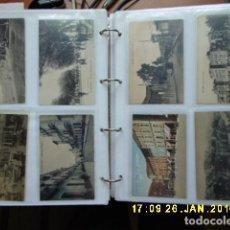 Postales: COLECCION DE 56 POSTALES MALAGA MONTADAS EN ALBUN. Lote 146988978