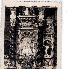 Postales: TARJETA POSTAL DE CADIZ. IGLESIA DE SANTO DOMINGO. ALTAR DE LA PATRONA DE CADIZ. VIRGEN DEL ROSARIO.. Lote 147306602