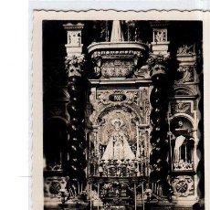 Postales: TARJETA POSTAL DE CADIZ. IGLESIA DE SANTO DOMINGO. ALTAR DE LA PATRONA DE CADIZ. VIRGEN DEL ROSARIO.. Lote 147306646