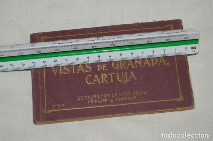 Postales: VINTAGE - CARNET POSTAL - 20 VISTA DE GRANADA, CARTUJA - 4ª SERIE - ED POR CASA REYES - ENV 24H - Foto 3 - 147395954