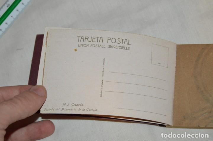 Postales: VINTAGE - CARNET POSTAL - 20 VISTA DE GRANADA, CARTUJA - 4ª SERIE - ED POR CASA REYES - ENV 24H - Foto 6 - 147395954
