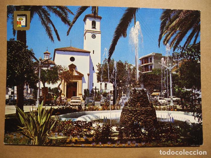 FUENGIROLA. PLAZA DEL GENERALISIMO. N. 22 ED. DOMINGUEZ. NUEVA. (Postales - España - Andalucia Moderna (desde 1.940))
