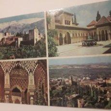 Postales: POSTAL GRANADA PATIO LEONES ALHAMBRA. Lote 147411074