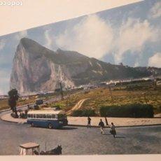 Postales: POSTAL LA LINEA DE LA CONCEPCION CADIZ PEÑON GIBRALTAR. Lote 147411688