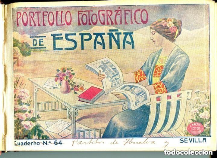 PORTFOLIO FOTOGRÁFICO DE ESPAÑA- SEVILLA-CAZALLA-CARMONA-UTRERA-HUELVA-MOGUER-AYAMONTE-LA PALMA-ETC. (Postales - España - Andalucía Antigua (hasta 1939))