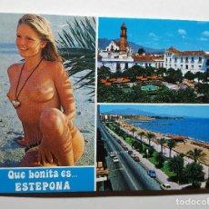 Postales: CHIPIONA CHICA DESNUDA TOP LESS. Lote 147601946