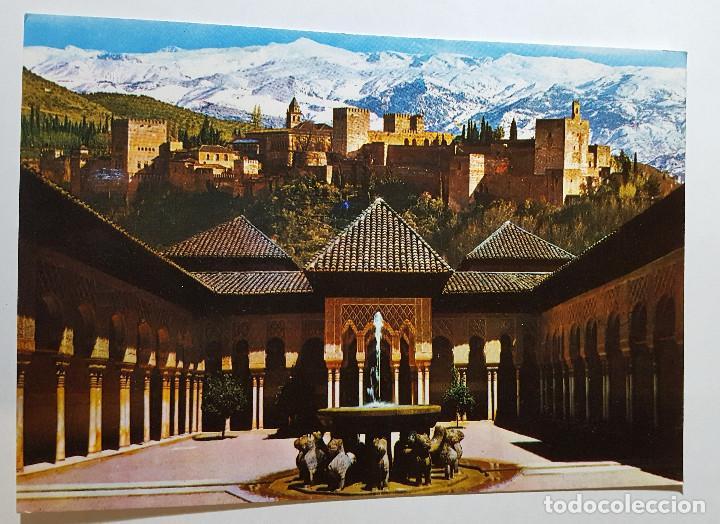 LA ALHAMBRA GRANADA PATIO DE LOS LEONES (Postales - España - Andalucia Moderna (desde 1.940))