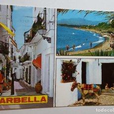 Postales: MARBELLA COSTA DEL SOL - ED. BEASCOA. Lote 147766842