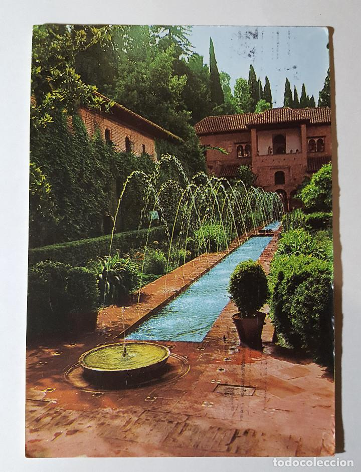 GENERALIFE GRANADA JARDINES ALTOS - POSTALES GRANADA (Postales - España - Andalucia Moderna (desde 1.940))