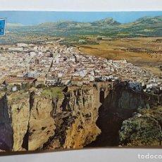 Postales: RONDA VISTA PARCIAL Y TAJO - ED. GARRIDO DELGADO. Lote 147789582