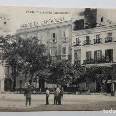 Postales: CADIZ PLAZA DE LA CONSTITUCION. Lote 147793086