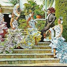 Postales: POSTAL * CÁDIZ , PACO DE LUCIO Y SU FIESTA BALLET * 1965. Lote 147851826
