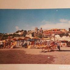 Postales: TORREMOLINOS, MALAGA, VISTA DESDE LA PLAYA. Lote 147856354
