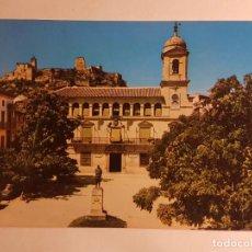 Postales: ALCALA LA REAL, JAEN, AYUNTAMIENTO Y CASTILLO . Lote 147858378