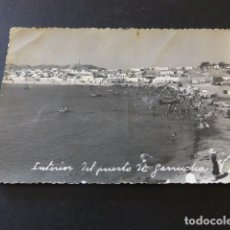 Postales: GARRUCHA ALMERIA INTERIOR DEL PUERTO DARSENA FOTO GIRA. Lote 147893582
