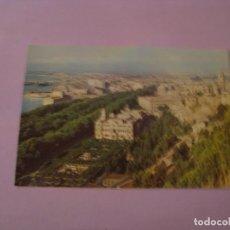 Postales: MALAGA. VISTA PARCIAL, AYUNTAMIENTO, PARQUE Y CATEDRAL. EXCLUSIVAS ALAMOS.. Lote 147906378