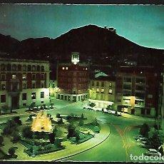 Postales: POSTAL * JAÉN , PLAZA JOSÉ ANTONIO , NOCTURNO * 1963. Lote 147921774
