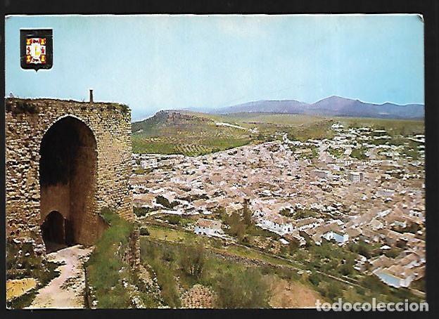 Postal Alcala La Real Entrada Al Castillo De La Mota 1971