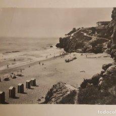 Postales: TORREMOLINOS MALAGA, PLAYA Y CASTILLO DEL INGLES. Lote 148002122