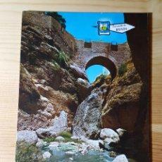 Postales: RONDA PUENTE ARABE - ED. GARRIDO DELGADO. Lote 148054654